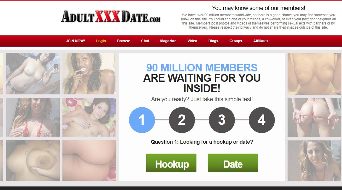 adultxxxdate reviews