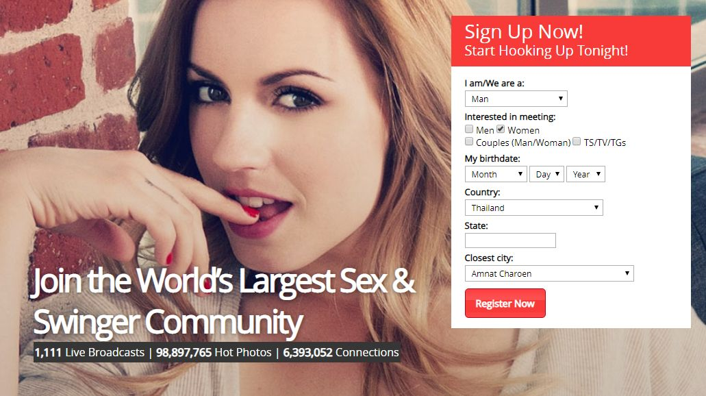 Largest sex dating site